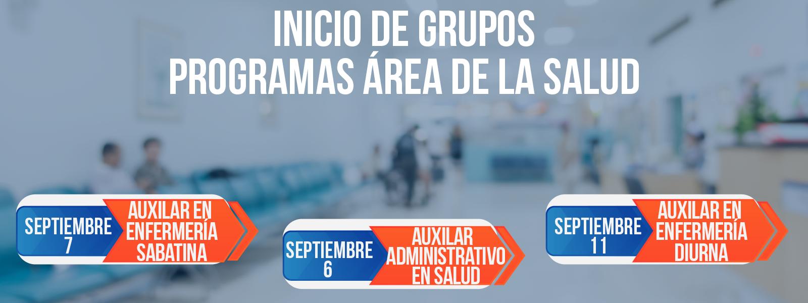 Grupos Salud Septiembre